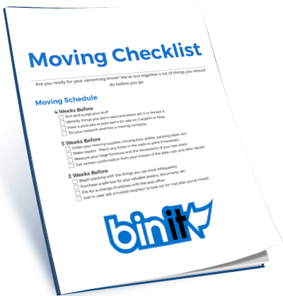 Get Our Printable Moving Checklist For FREE