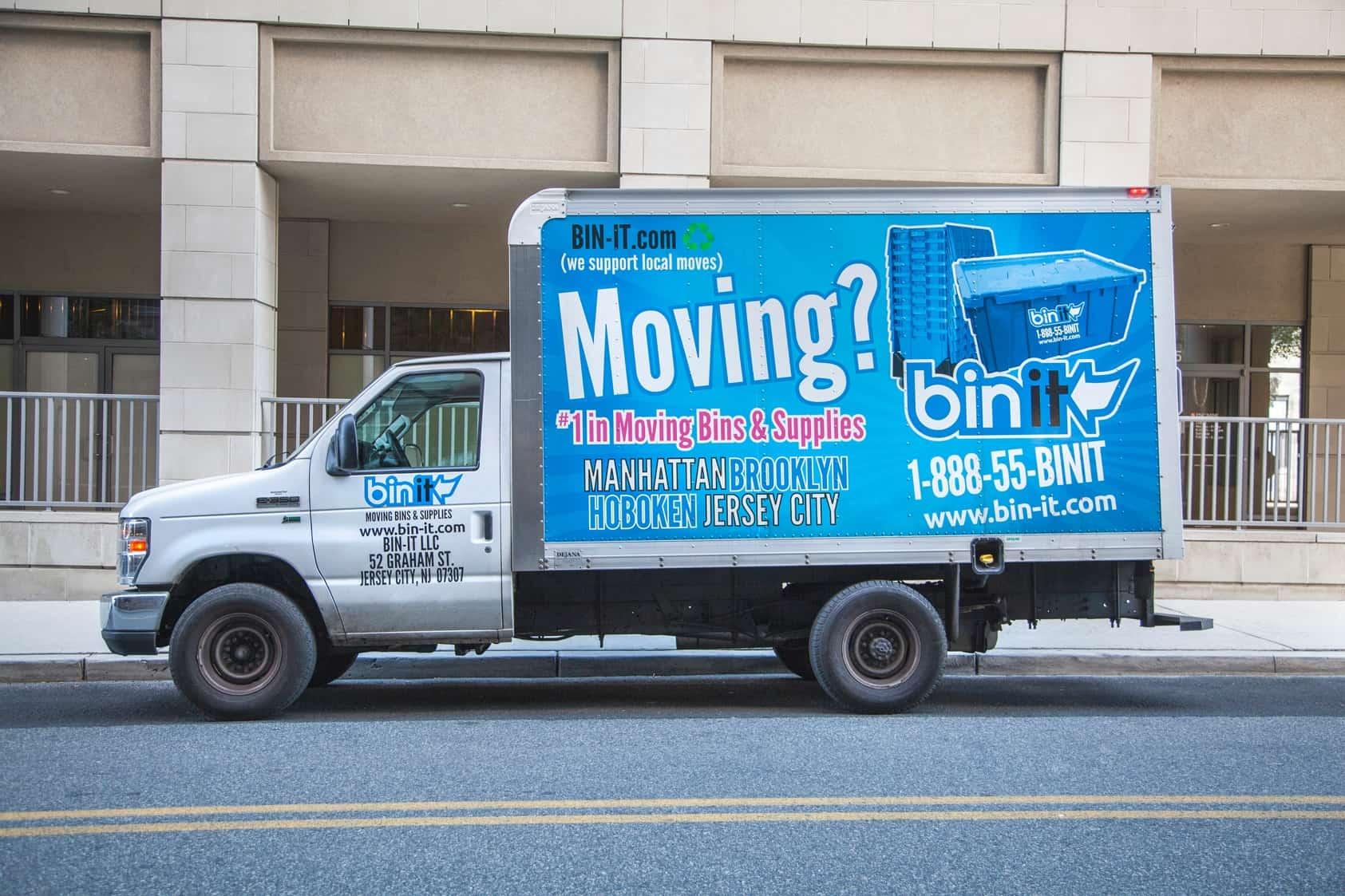 Bin it moving bins and supplies