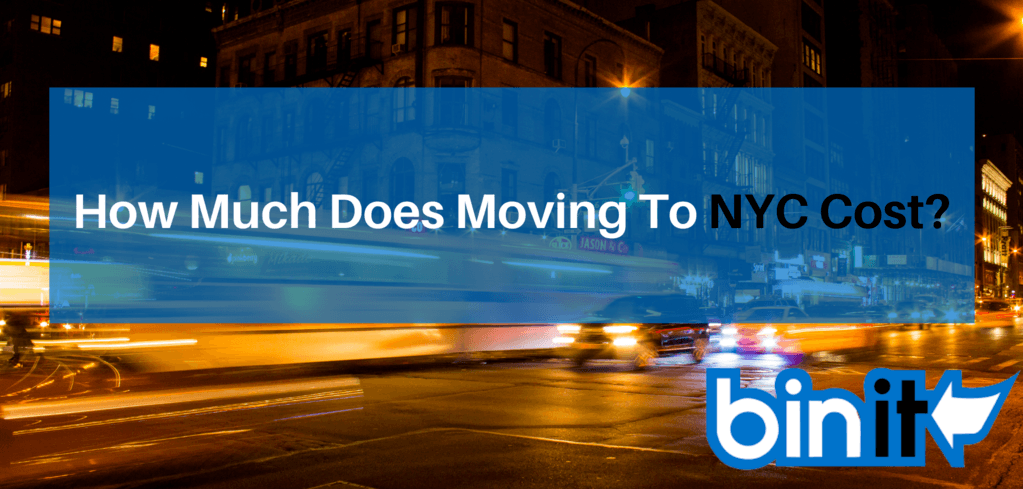 How Much Does Moving To NYC Cost