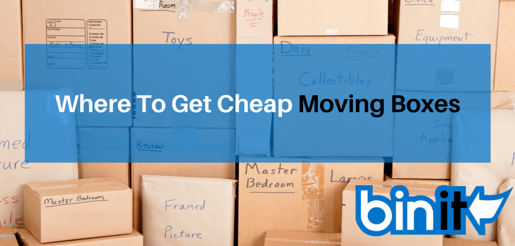 Where To Get Cheap Moving Boxes