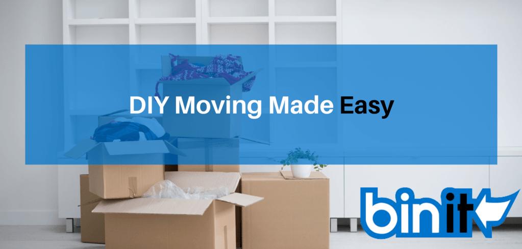 DIY Moving - DIY Moving Made Easy - Bin It