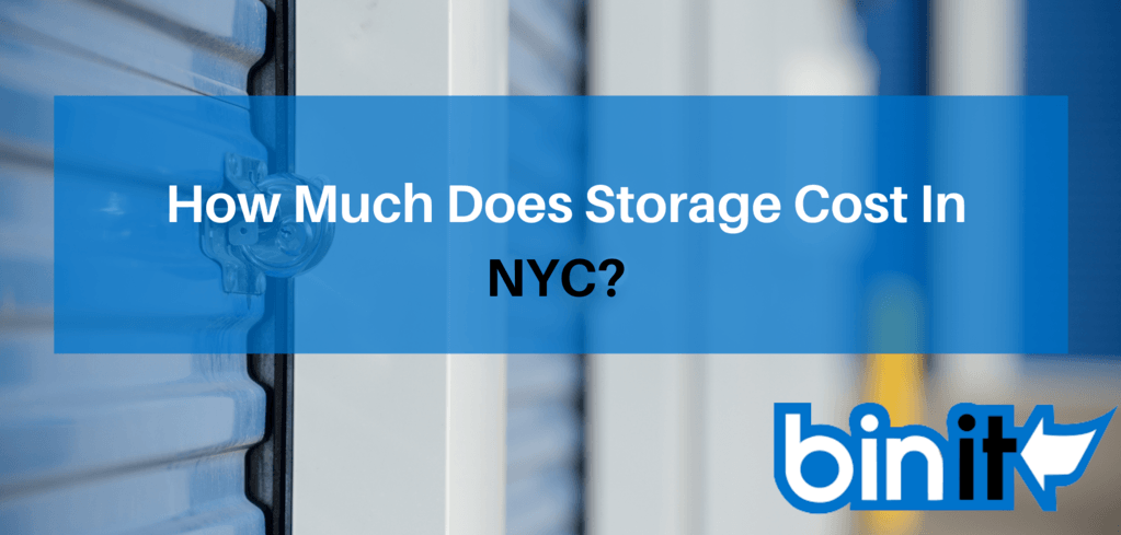 How Much Does Storage Cost In NYC